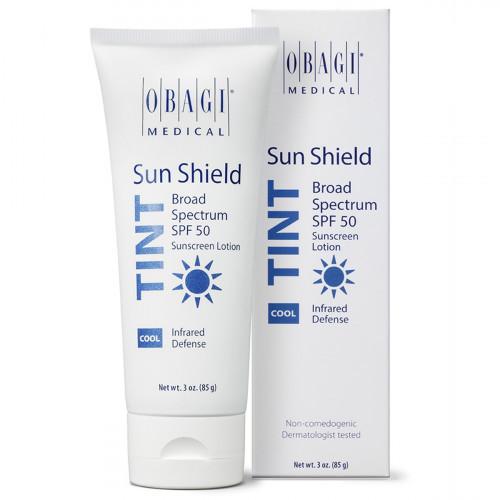 Тонирующий солнцезащитный крем SPF 50 с холодным оттенком / Sun Shield Tint Broad Spectrum SPF 50 COOL OBAGI