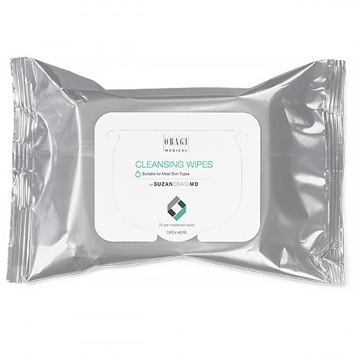 Очищающие салфетки SUZAN OBAGI MD Cleansing Wipes 25 штук