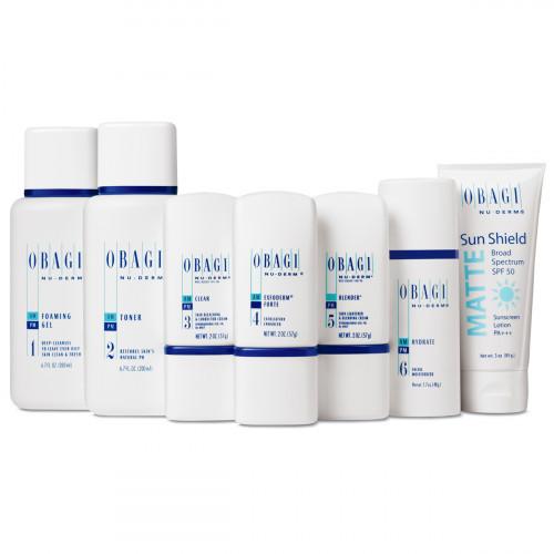 Стартовый набор для нормальной, сухой кожи Obagi Nu-Derm Starter Set Dry Skin [KIT] + сумочка