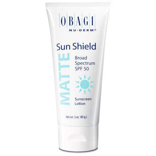 Матирующий солнцезащитный крем SPF 50 / Nu-Derm Sun Shield Matte Broad Spectrum SPF 50 OBAGI