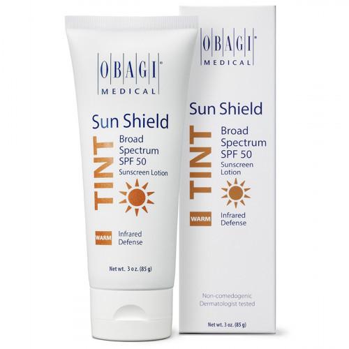 Тонирующий солнцезащитный крем SPF 50 с теплым оттенком / Sun Shield Tint Broad Spectrum SPF 50 WARM OBAGI