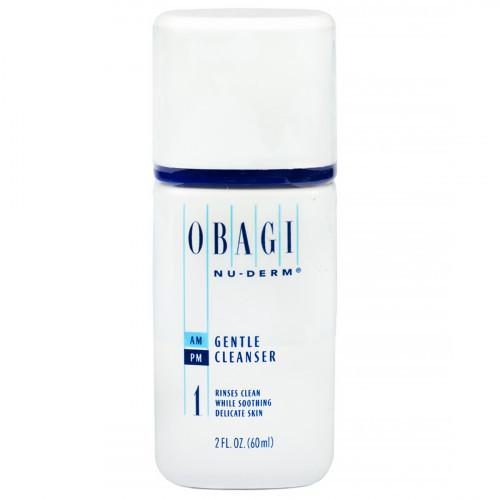 Пробник  Мягкое очищающее средство / Obagi Nu-Derm Gentle Cleanser 60 ml