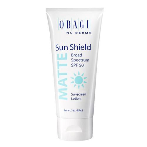 Матирующий солнцезащитный крем SPF 50 / Obagi-C Rx Sun Shield Matte Broad Spectrum SPF 50  NU-Derm OBAGI